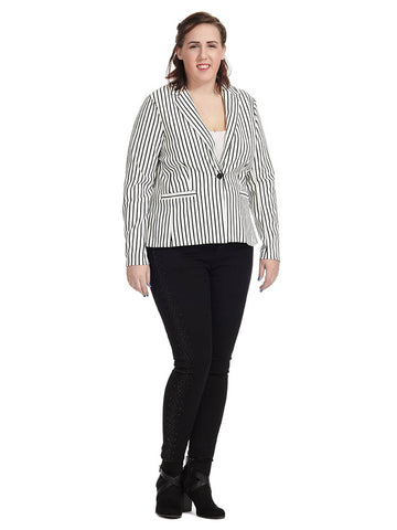 Destiny Striped Blazer