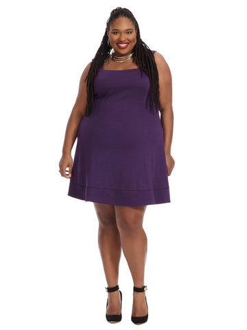 Dolan Dress In Purple