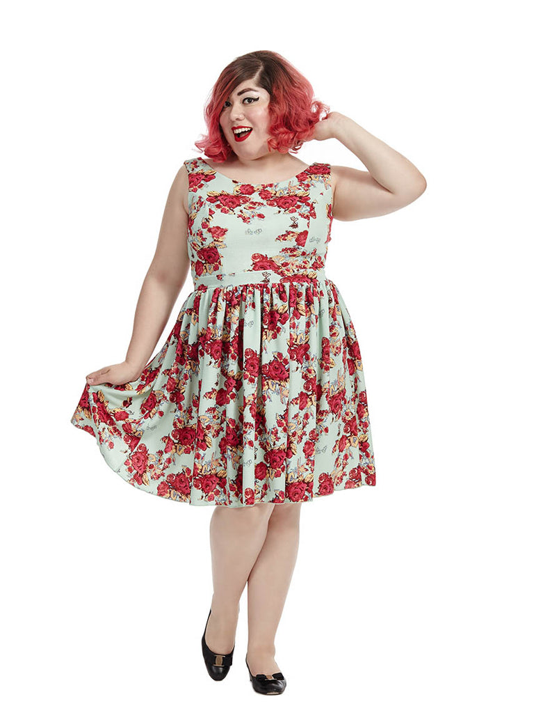 Priscilla Dress In Rose Bouquet