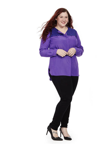 Reese Top In Purple