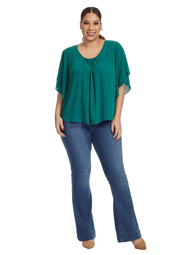 Angel Top In Green