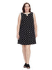 Keyhole Dress In Polka Dot