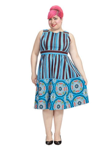 Soweto Sea Breeze Fit And Flare Dress