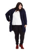 Holmes Long Cardigan In Navy