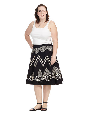 Bandana Placement Skirt