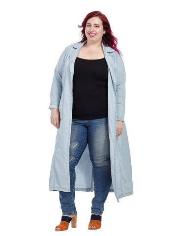 Chambray Duster