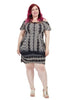 Ombre Animal Tunic Dress