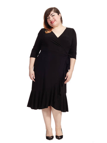 Whimsy Dress In Black