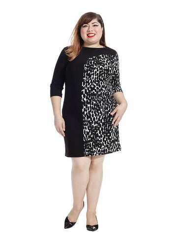 Marcel Dress In Dot Print