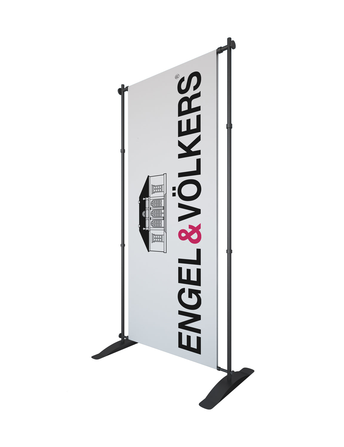 Private: Telescopic Banner Stand