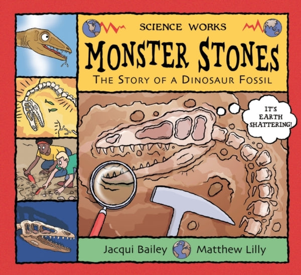Monster Stones by Jaqui Bailey (group set, 7 books)