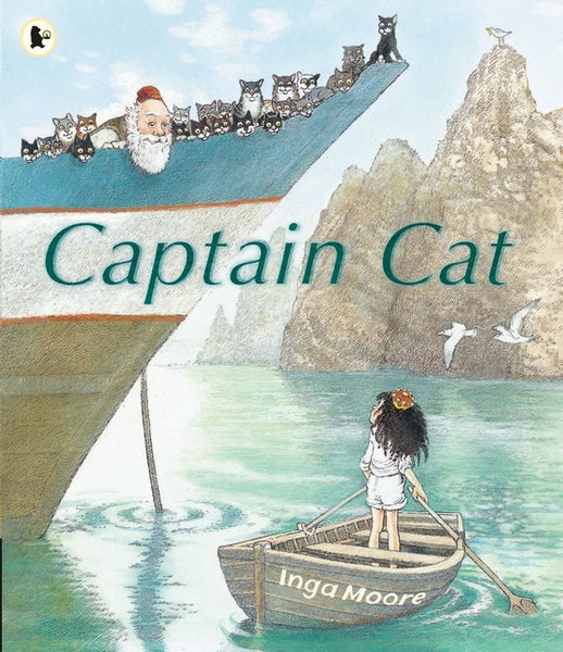 Captain Cat by Inga Moore (group set, 7 books)