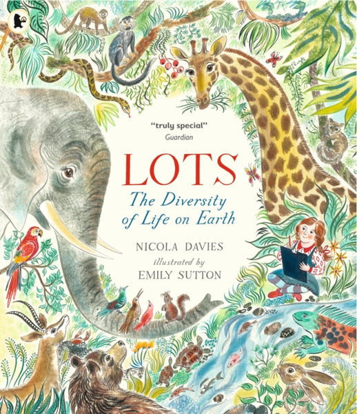 Lots : The Diversity of Life on Earth by Nicola Davies (half class set, 15 books)