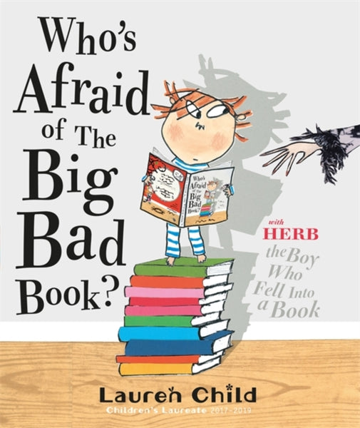 Who's Afraid of the Big Bad Book? by Lauren Child (half class set, 15 books)