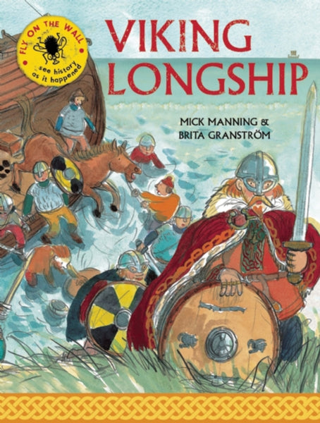 Viking Longship, by Mick Manning (group set, 7 books)