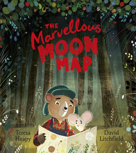 Marvellous Moon Map, The by Teresa Heapy (half class set, 15 books)