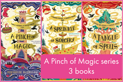 A Pinch of Magic series (3 books)