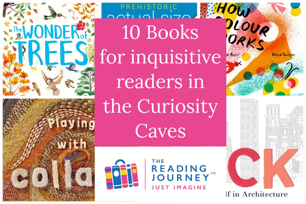 The Reading Journey: Exciting Nonfiction (Curiosity Caves) Years 3 & 4 - Single copies/10 Books