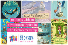 The Reading Journey: Explorers Fact and Fiction (Explorers' Camp) Years 3 & 4 - Single copies/10 Books