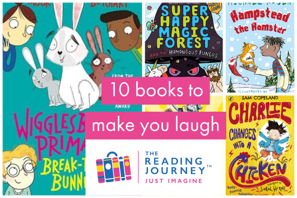 The Reading Journey: Funny Books (Funny Forest) Years 3 & 4 - Single copies/10 Books