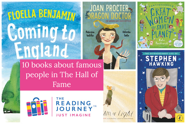 The Reading Journey: Famous People (Hall of Fame) Years 3 & 4 - Single copies/10 Books