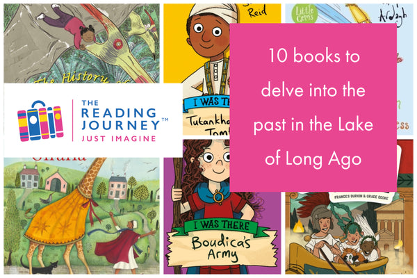 The Reading Journey: History Fact & Fiction (Lake of Long Ago...) Years 3 & 4 - Single copies/10 Books