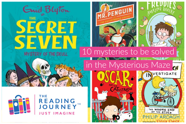 The Reading Journey: Mystery Stories (Mysterious Maze) Years 3 & 4 - Single copies/10 Books