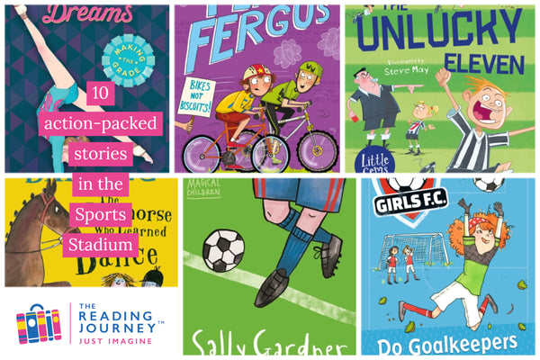 The Reading Journey: Sports Stories (Sports Stadium) Years 3 & 4 - Single copies/10 Books