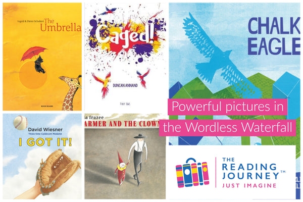 The Reading Journey: Wordless Picturebooks (Wordless Watermill) Years 3 & 4 - Single copies/10 Books