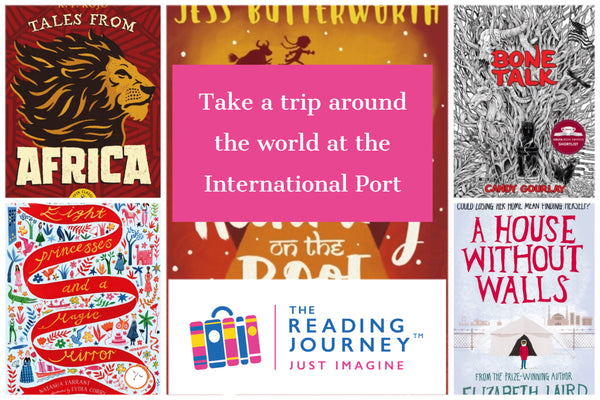 The Reading Journey: Stories from Around the World (International Port) Years 5 & 6 - Single copies/10 Books