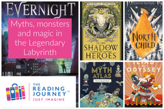 The Reading Journey: Myths & Legends (Legendary Labyrinth) Years 5 & 6 - Single copies/10 Books