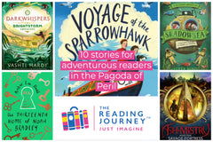 The Reading Journey: Adventure Stories (Pagoda of Peril) Years 5 & 6 - Single copies/10 Books