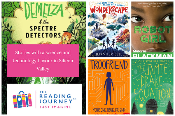 The Reading Journey: Science Fact & Fiction (Silicon Valley) Years 5 & 6 - Single copies/10 Books