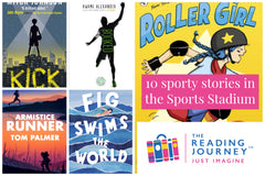 The Reading Journey: Sports Stories (Sports Stadium) Years 5 & 6 - Single copies/10 Books