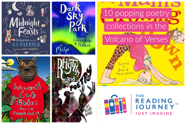 The Reading Journey: Poetry (Volcano of Verses) Years 5 & 6 - Single copies/10 Books