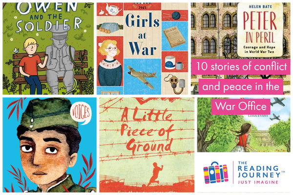 The Reading Journey: War Fiction (War Office) Years 5 & 6 - Single copies/10 Books