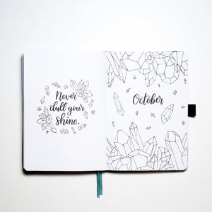 Example of October Cover Page