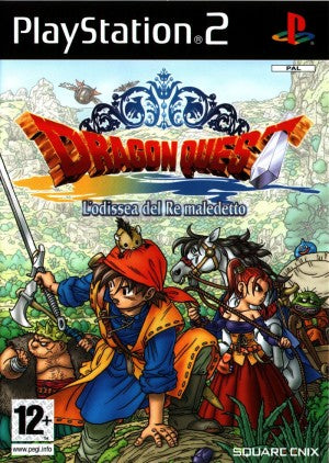 DRAGON QUEST - L'ODISSEA DEL RE MALEDETTO PLAYSTATION 2 EDIZIONE ITALIANA