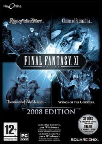 FINAL FANTASY XI ONLINE 2008 EDITION PC EDIZIONE ITALIANA