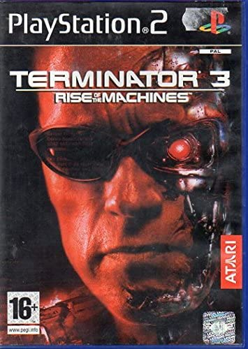 TERMINATOR 3 RISE OF THE MACHINES PS2