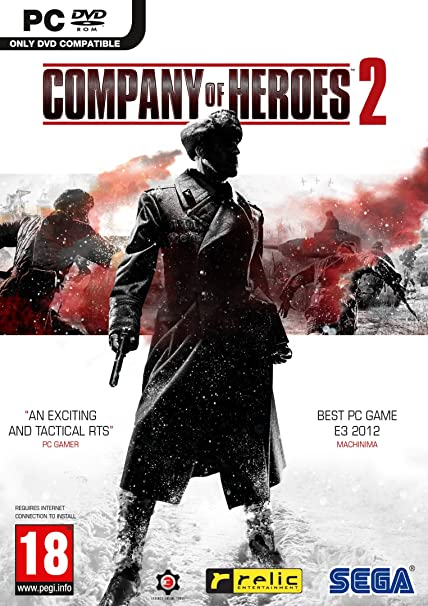 COMPANY OF HEROES 2 PC EDIZIONE EUROPEA MULTILINGUA ITALIANO (4594796134454)