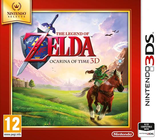 THE LEGEND OF ZELDA OCARINA OF TIME 3D SELECT NINTENDO 3DS EDIZIONE INGLESE (4558536146998)