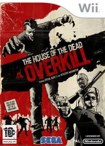 THE HOUSE OF THE DEAD OVERKILL NINTENDO WII EDIZIONE ITALIANA