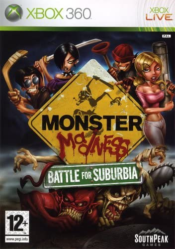 MONSTER MADNESS BATTLE FOR SUBURBIA XBOX 360 EDIZIONE ITALIANA (4575052988470)