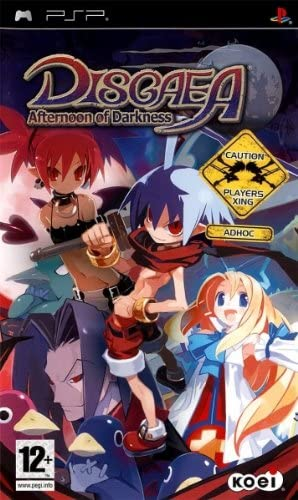 DISGAEA AFTERNOON OF DARKNESS PSP EDIZIONE ITALIANA