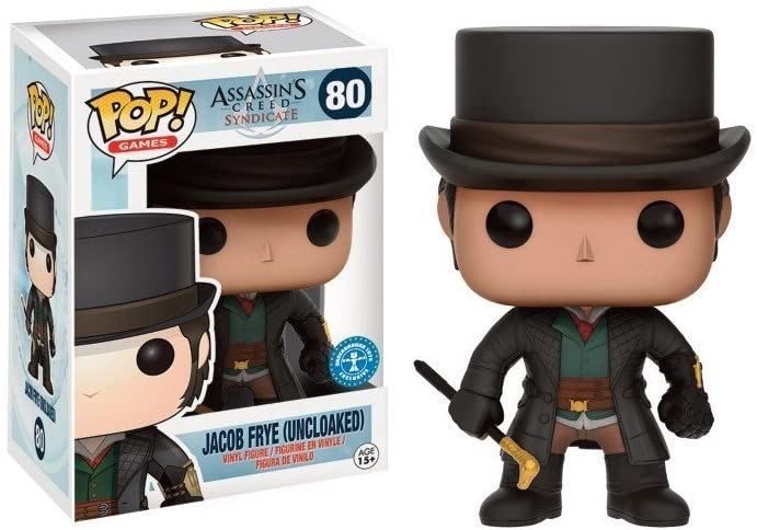 POP! FUNKO 80 JACOB FRYE (UNCLOAKED)
