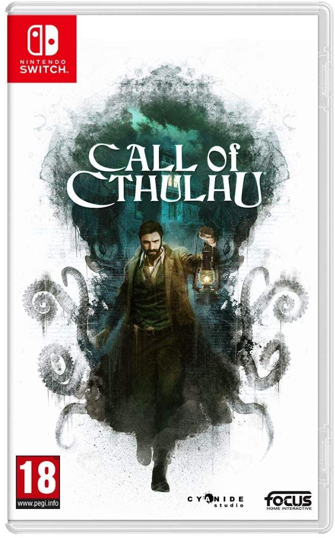 CALL OF CTHULHU NINTENDO SWITCH EDIZIONE REGNO UNITO (4529224843318)