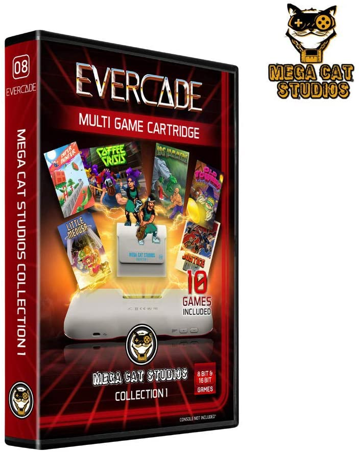 MEGA CAT STUDIOS COLLECTION 1 EVERCADE