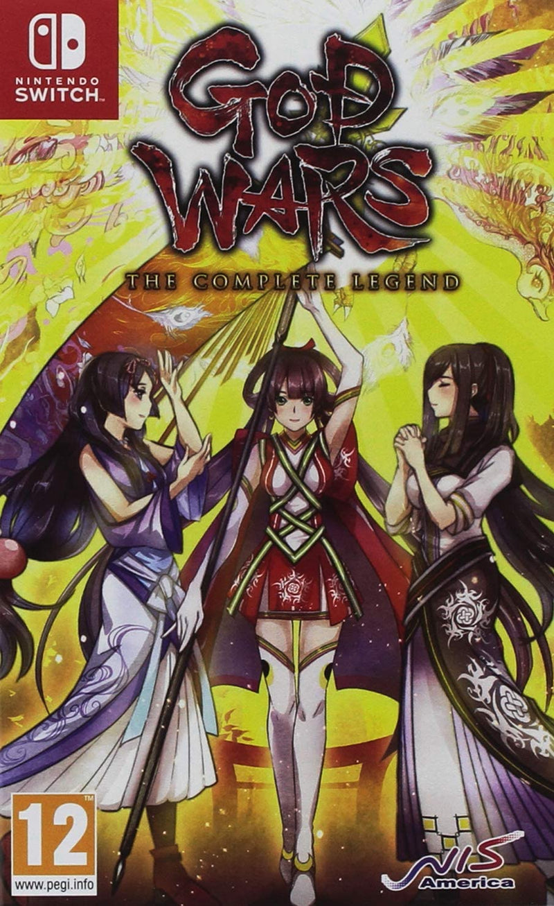 GOD WARS THE COMPLETE LEGEND NINTENDO SWITCH EDIZIONE REGNO UNITO