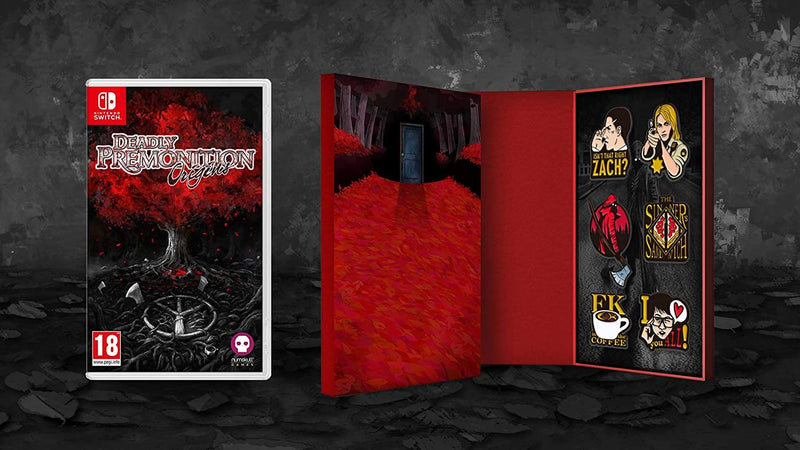 DEADLY  PREMONITION ORIGINS COLLECTOR'S EDITION NINTENDO SWITCH EDIZIONE REGNO UNITO